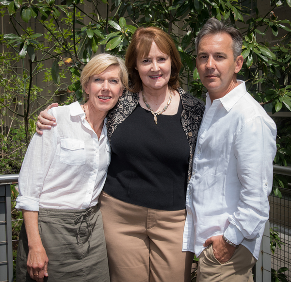 Victoria Vance, Producer Mary J. Davis and Playwright Jackob G. Hofmann