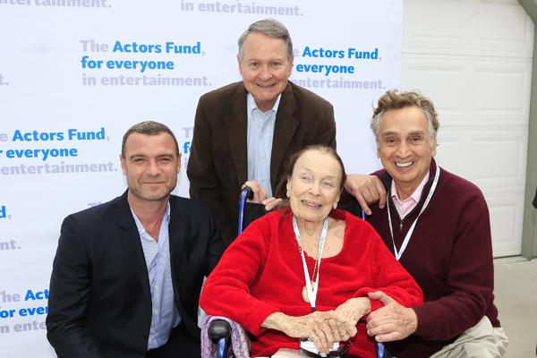 Liev Schreiber, John Holly, Patricia Morison, John Bowab Photo