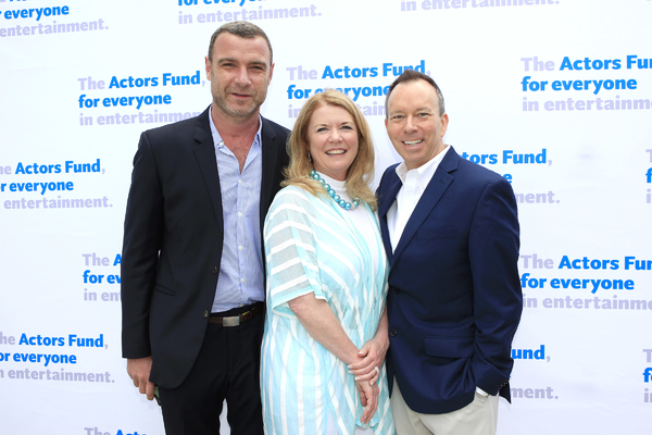 Liev Schreiber, Meg Thomas and David Rambo