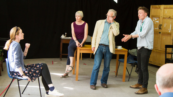 Photo Flash: In Rehearsal with A VIEW FROM ISLINGTON NORTH at the Arts Theatre