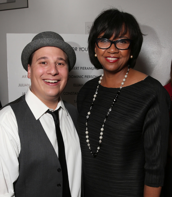 Jared Gertner and Cheryl Boone Isaacs