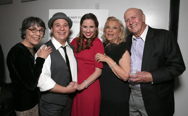 Director Kay Cole, Jared Gertner, Nikki Bohne, Corky Hale and Mike Stoller