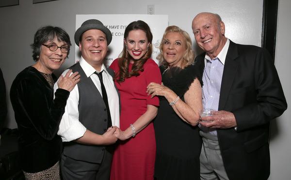 Director Kay Cole, Jared Gertner, Nikki Bohne, Corky Hale and Mike Stoller