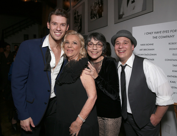 Constantine Rousouli, Corky Hale, Director Kay Cole and Jared Gertner