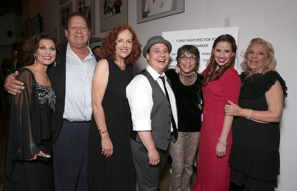Valerie Perri, Writer Jerry Leichtling, Writer Arlene Sarner, Jared Gertner,  Kay Cole, Nikki Bohne and Corky Hale