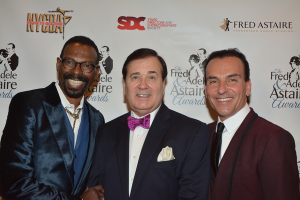 Michael-Demby Cain, Lee Roy Reams and Joe Lanteri Photo