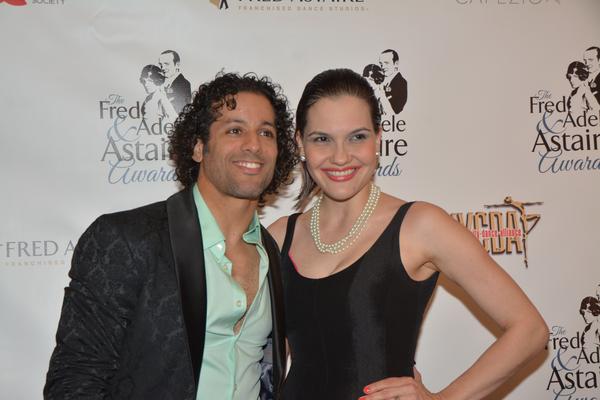 Luis Salgado and his wife Denisse