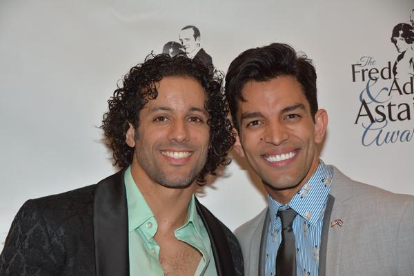Luis Salgado and Carlos Gonzalez