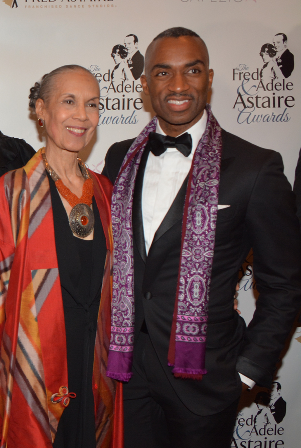 Carmen De Lavallade and Desmond RIchardson