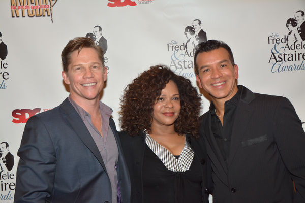 Jack Noseworthy, Maria Torres and Sergio Trujillo