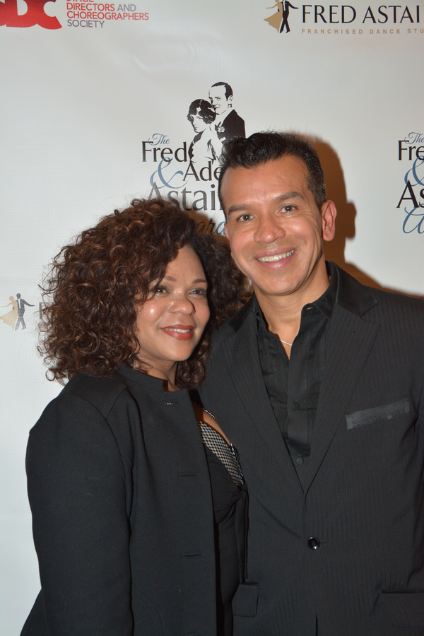 Maria Torres and Sergio Trujillo