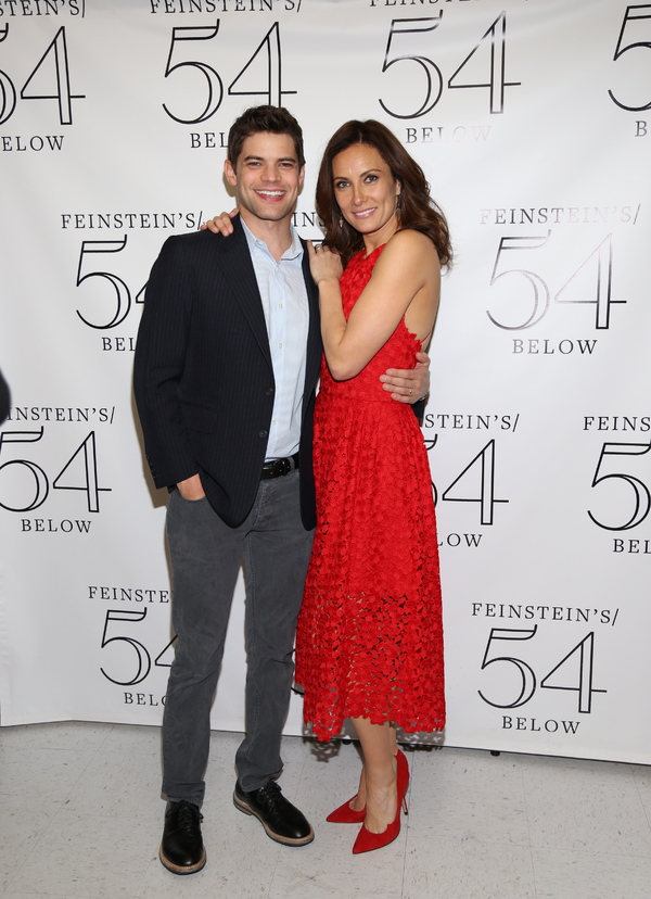 Jeremy Jordan and Laura Benanti