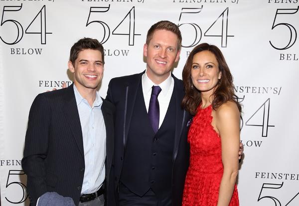 Jeremy Jordan, Steve Schonberg and Laura Benanti