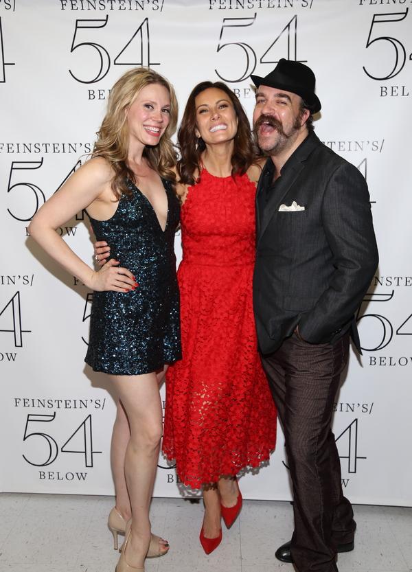 Jessica Rush, Laura Benanti and Eric Anderson