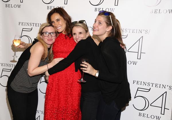 Laura Benanti, Kelly Hutchinson, Sarah Saltzberg and Chelsea Nachman