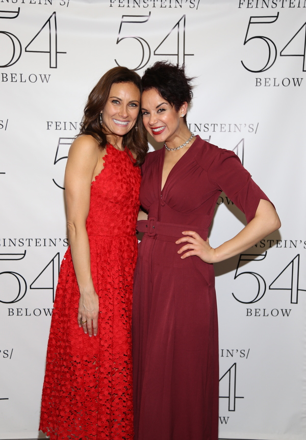 Laura Benanti and Alexandra Silber