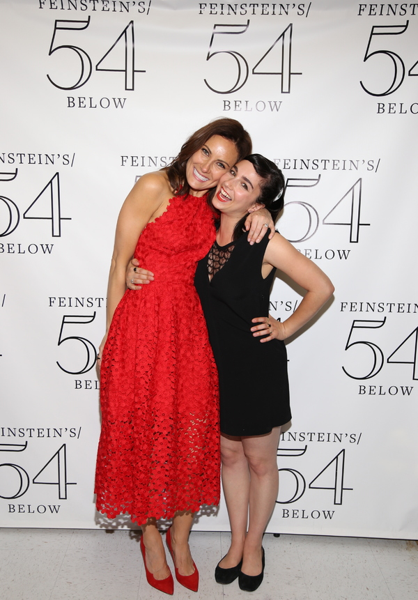 Laura Benanti and Molly Ephraim