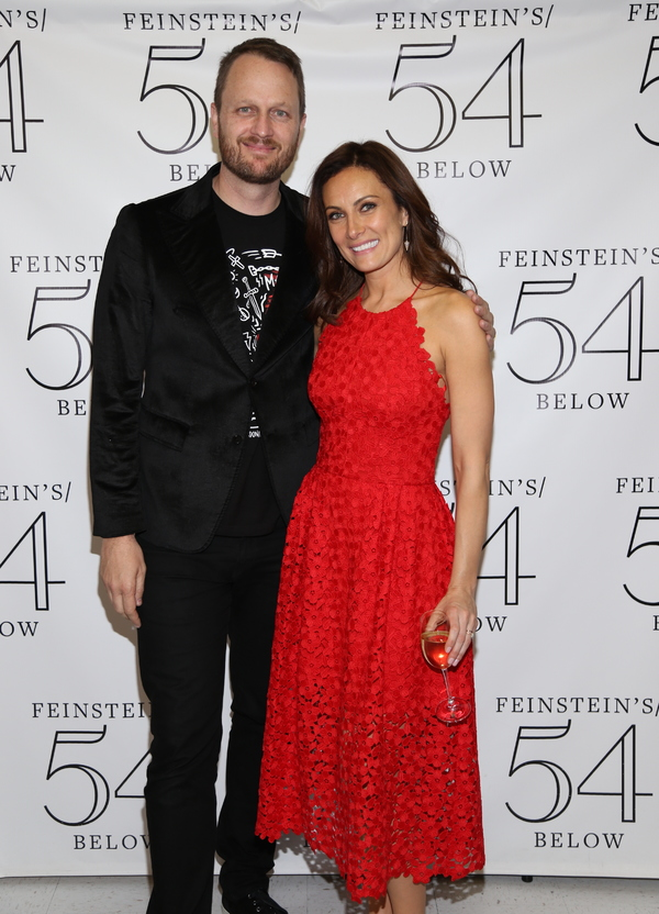 Todd Almond and Laura Benanti