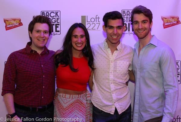Benjamin Simposon, Katie Lynch, Matt Rodin and Mike Heslin Photo