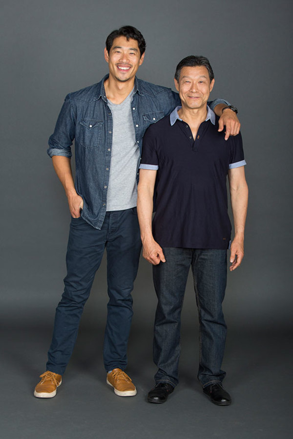 Tim Chiou and James Saito