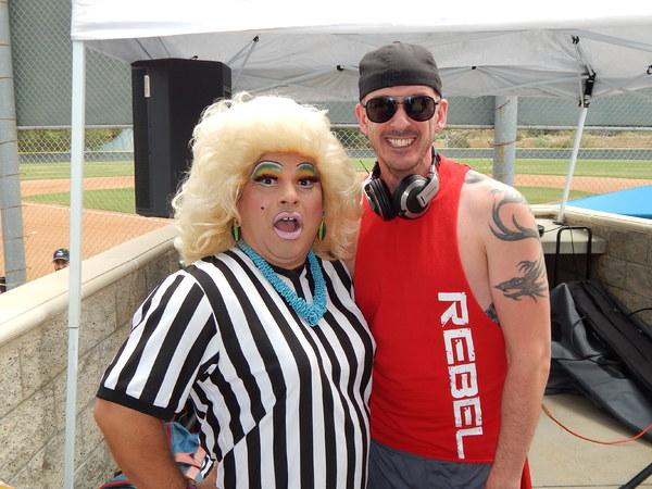 Frieda Laye & DJ eur-O-Steve  Photo