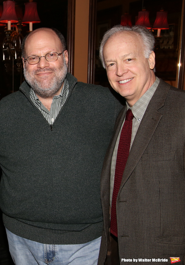 Scott Rudin and Reed Birney