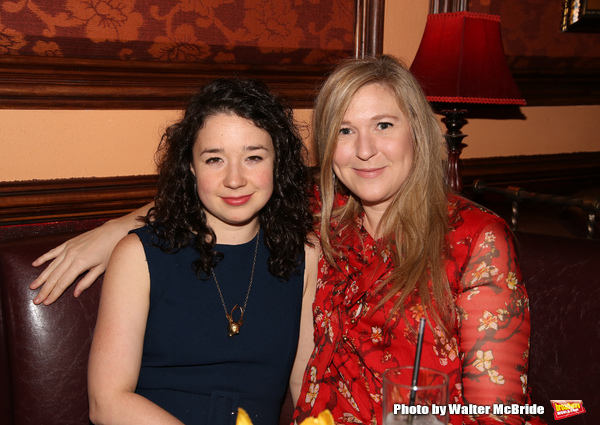 Sarah Steele and Cassie Beck