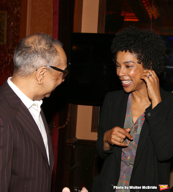George C. Wolfe and Sophie Okonedo