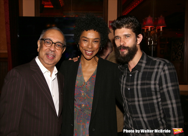 George C. Wolfe, Sophie Okonedo and Ben Whishaw