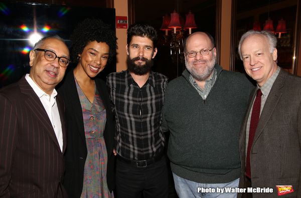 George C. Wolfe, Sophie Okonedo, Ben Whishaw, Scott Rudin and Reed Birney