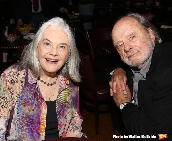 Lois Smith and Harris Yulin