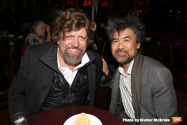 Oskar Eustis and Henry Hwang