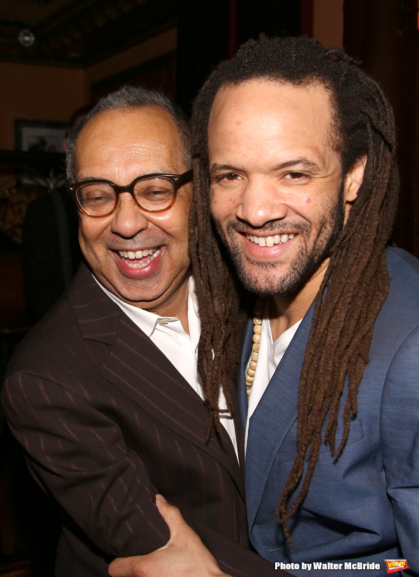 George C. Wolfe and Savion Glover