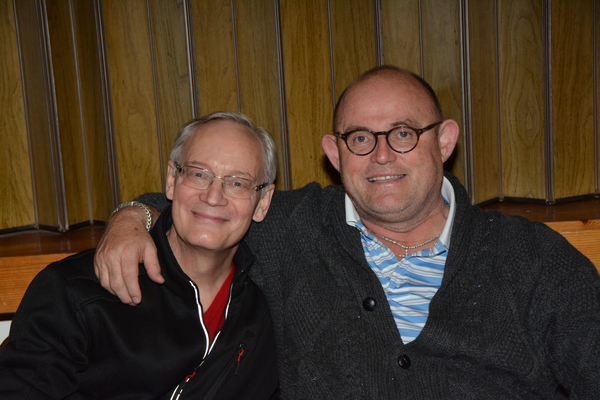 William Lewis and Ronan Tynan