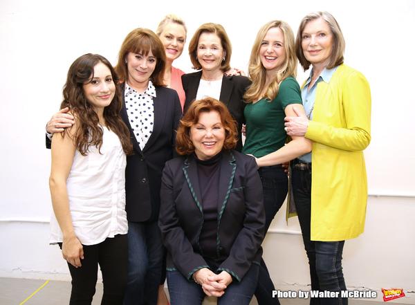 Director Marsha Mason with cast Lucy DeVito, Patricia Richardson, Elaine Hendrix, Jes Photo