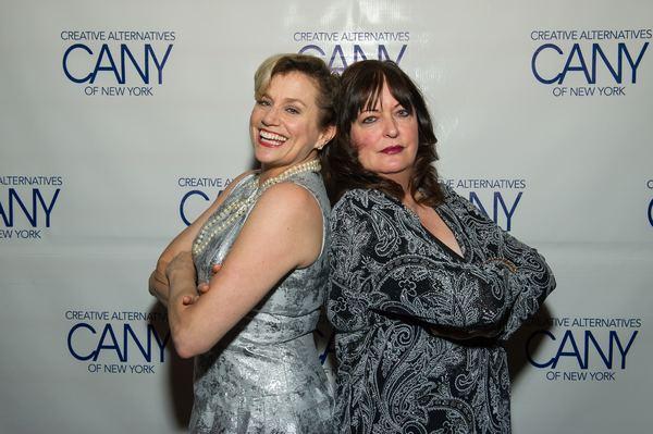 Cady Huffman and Ann Hampton Callaway