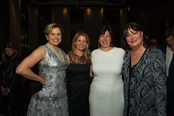 Cady Huffman, Kelli O'Hara, Alissa Desmarais and Ann Hampton Callaway