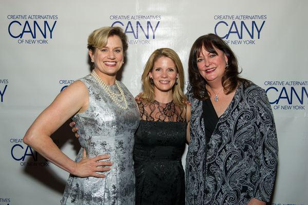 Cady Huffman, Kelli O'Hara and Ann Hampton Callaway