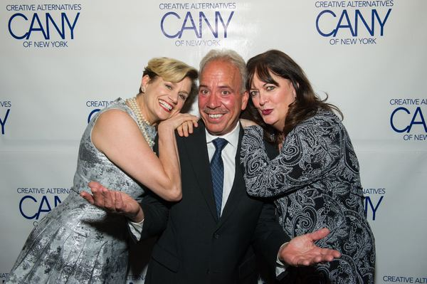 Cady Huffman, Ron Tabano and Ann Hampton Callaway
