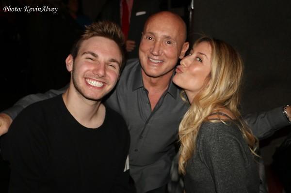 AJ, Gianni Valenti and Kelly King