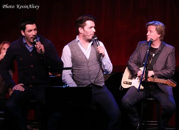 Drew Scott, Jonathan Scott and Gunnar Nelson