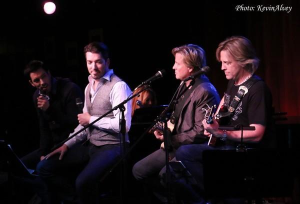 Drew Scott, Jonathan Scott, Matthew Nelson and Gunnar Nelson