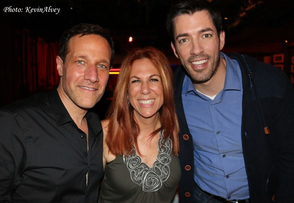 Jim Brickman, Victoria Shaw and Drew Scott Photo