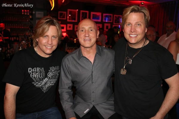 Matthew Nelson, Gianni Valenti and Gunnar Nelson
