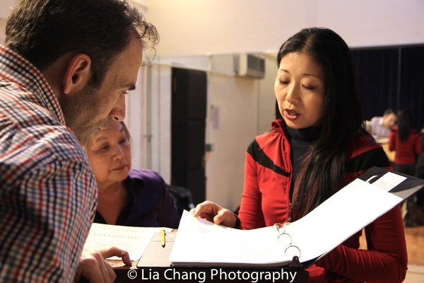 Photo Flash: In Rehearsal for Alvin Ing's GOT A LOT OF LIVIN' TO DO at The Duplex
