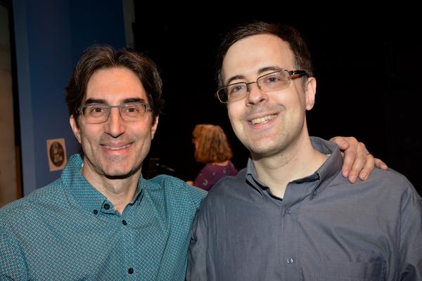 Michael Unger and Van Dean