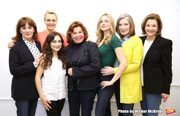Director Marsha Mason with cast Patricia Richardson, Elaine Hendrix, Lucy DeVito, Clea Alsip, Susan Sullivan and Jessica Walter