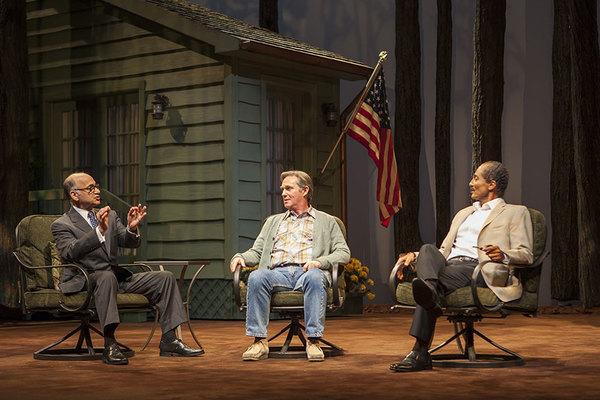 Ned Eisenberg, Richard Thomas , and Khaled Nabawy