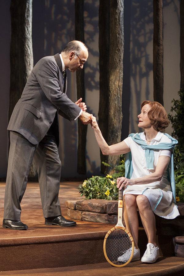 Ned Eisenberg and Hallie Foote