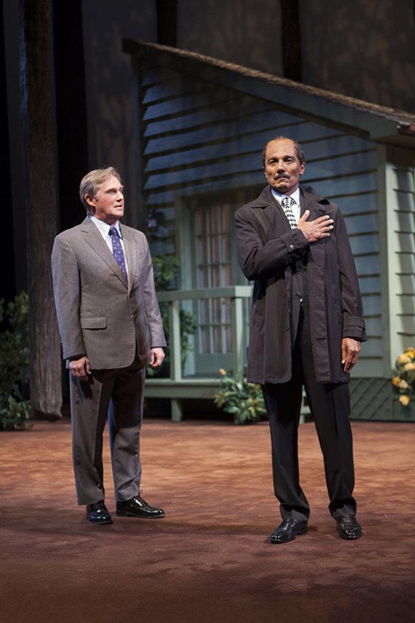Richard Thomas and Khaled Nabawy